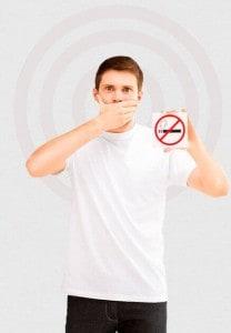 La cerimonia per smettere di fumare