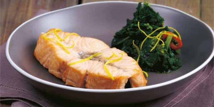 salmone-limone-cime-di-rapa