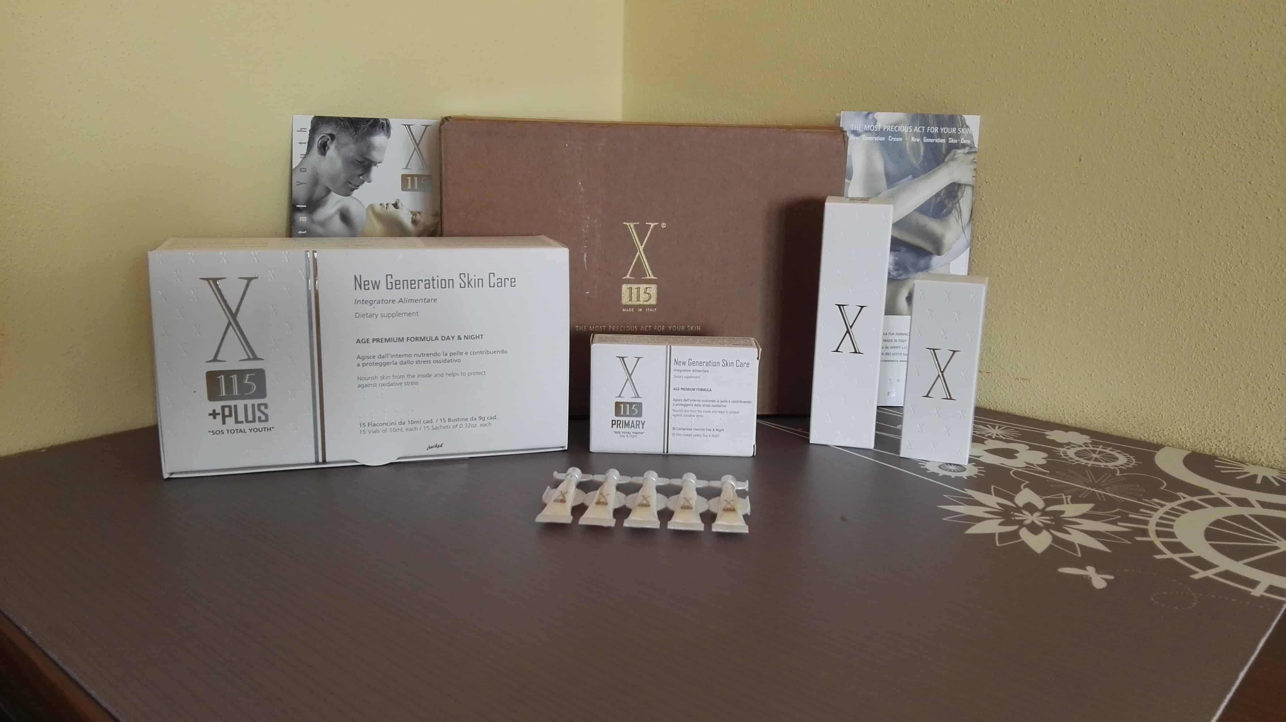 X115 Antiage System: una soluzione completa antirughe